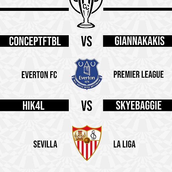 Group B Matchweek 6 Fixtures