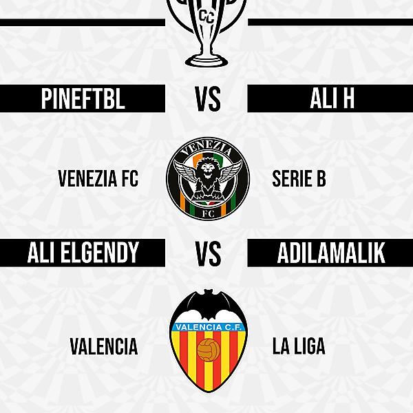 Group D Matchweek 4 Fixtures