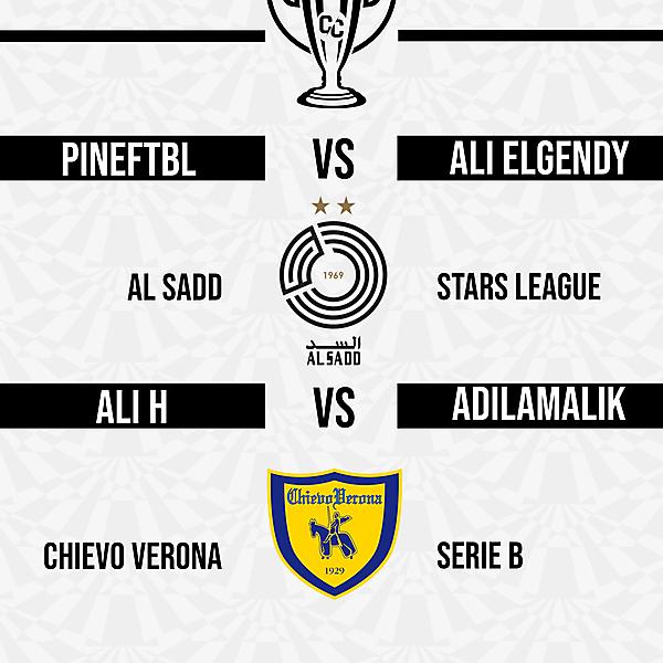 Group D Matchweek 5 Fixtures