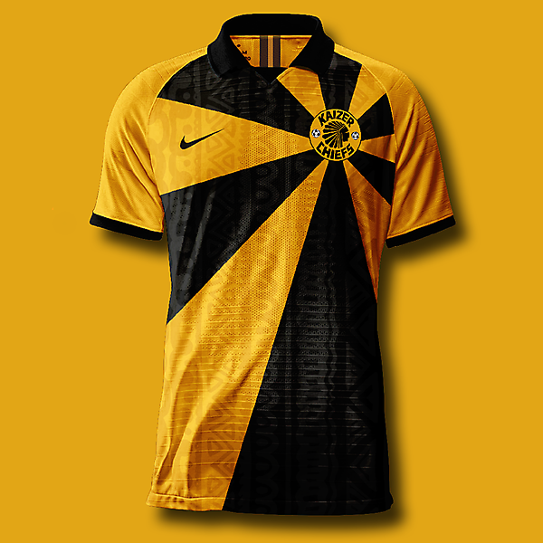 Kaizer chiefs home shirt