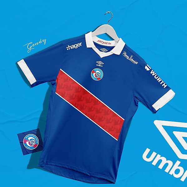 RC Strasbourg Home Kit Concept