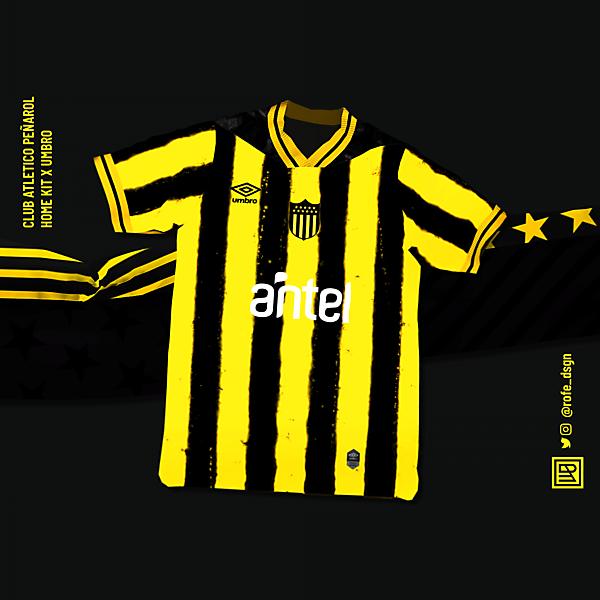 CA Peñarol Home Kit x Umbro | @rofe_dsgn
