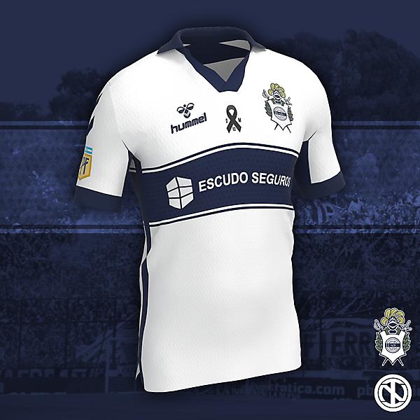 Gimnasia y Esgrima La Plata | Home Kit Concept