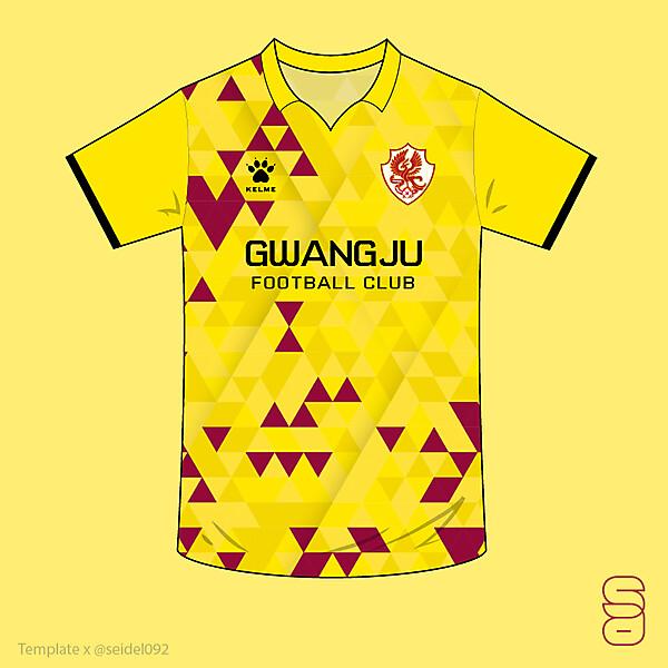 Gwangju FC home kit