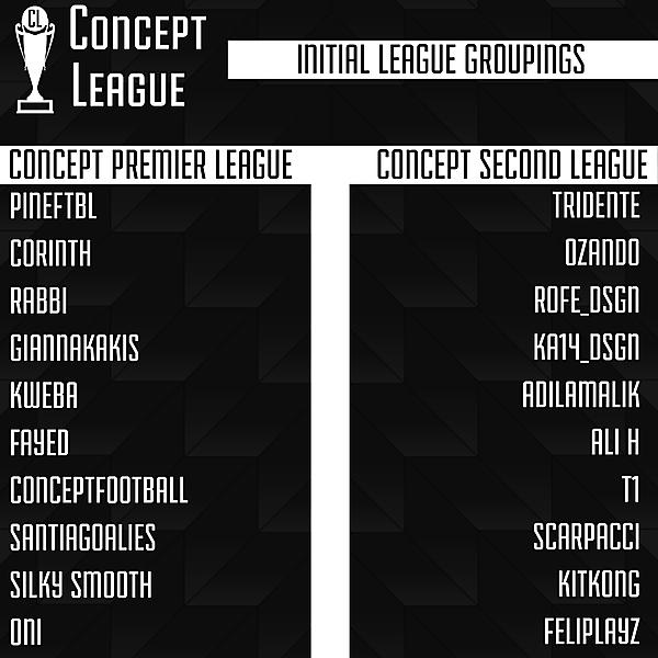 Initial Leagues