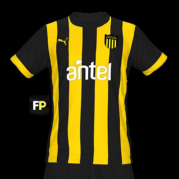 Peñarol home kit by @feliplayzz