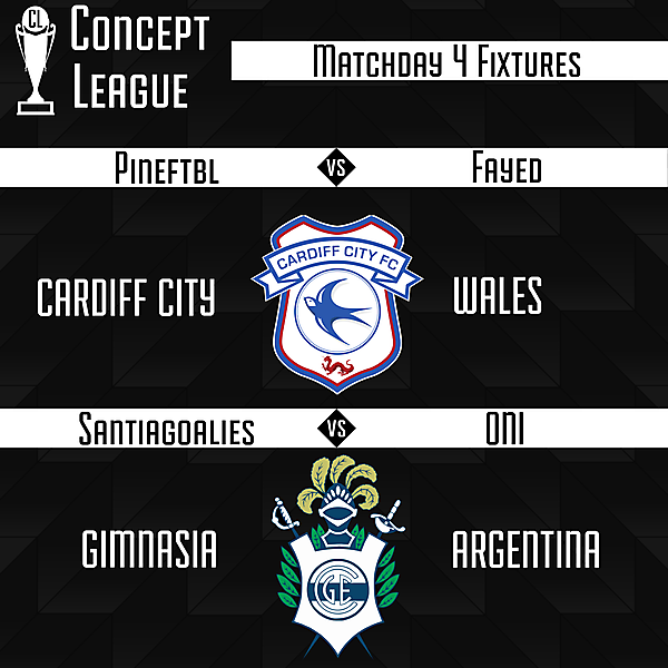 Premier League Matchday 4 Fixtures