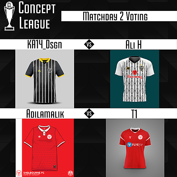 Second League Matchday 2 Voting