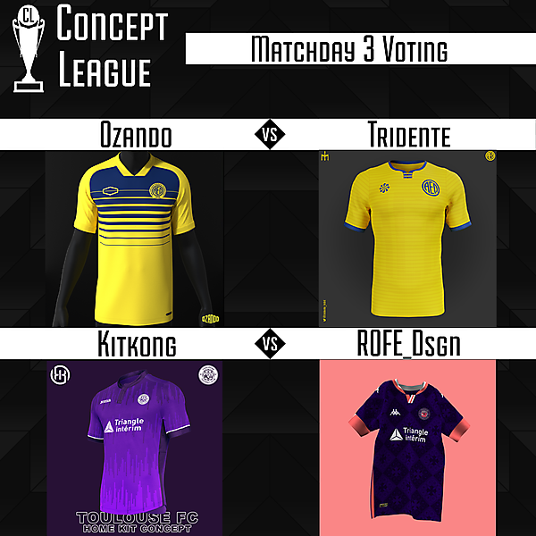 Second League Matchday 3 Voting
