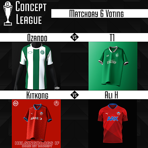 Second League Matchday 6 Voting
