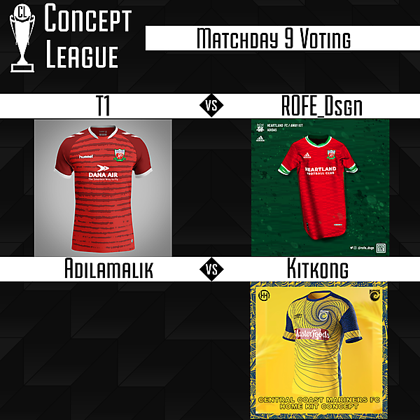 Second League Matchday 9 Voting