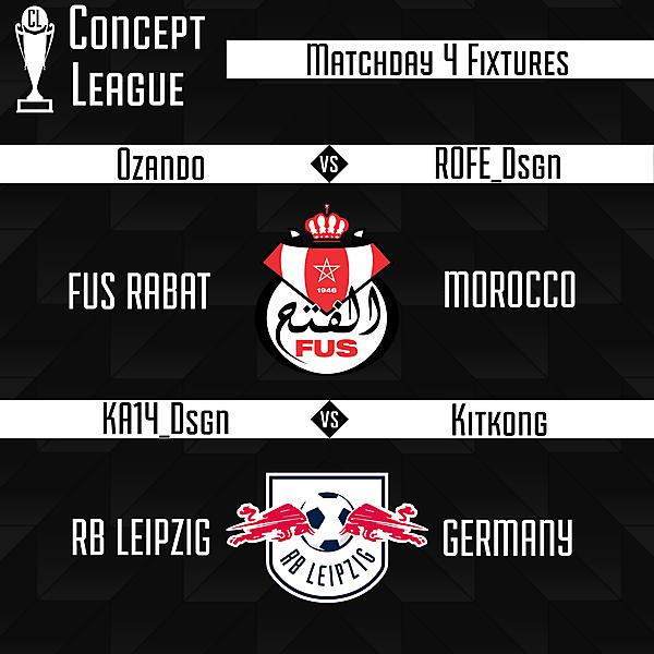 Second League Matchweek 4
