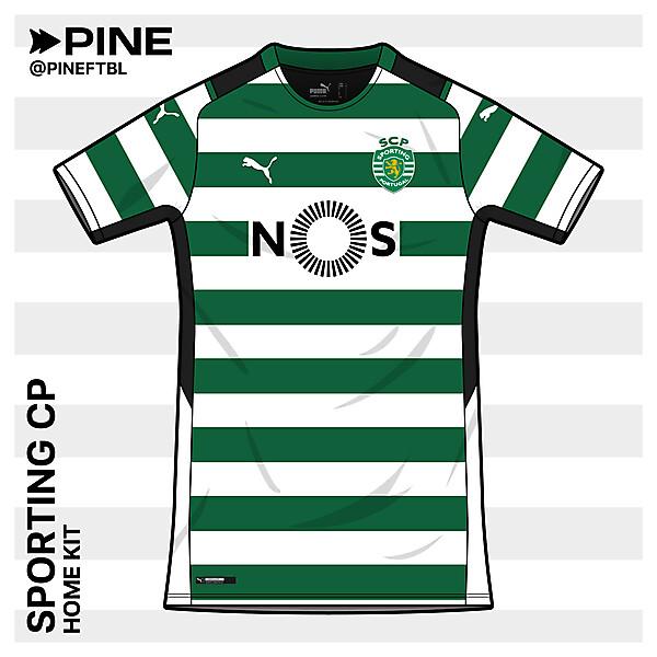 Sporting CP Home | Puma