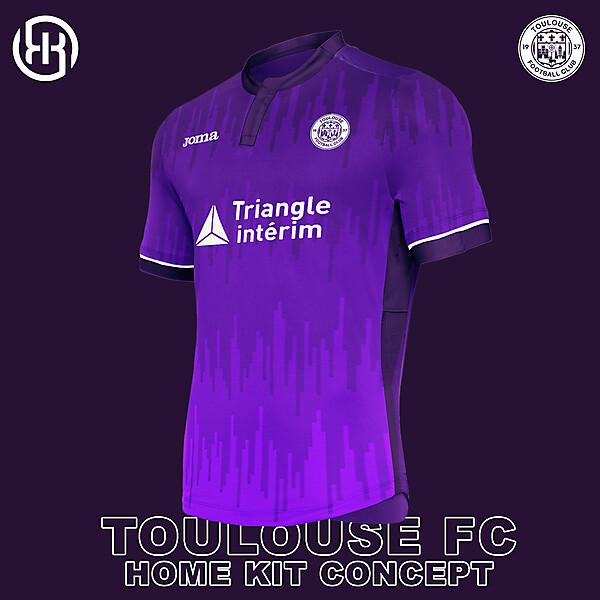 Toulouse FC | Home kit concept