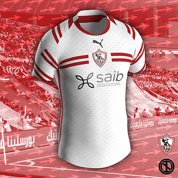 Zamalek SC   Home Kit Concept