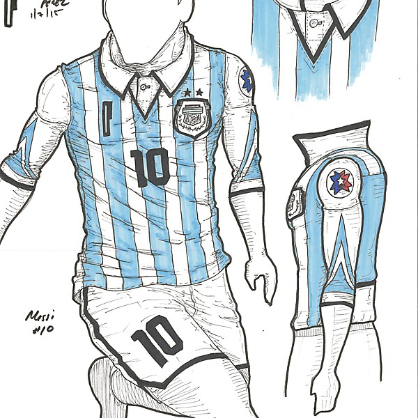 Copa America 2015 - Semifinals - Argentina - by Perceni