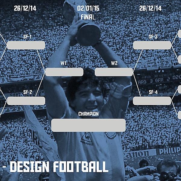 Copa América Design Football (Closed)