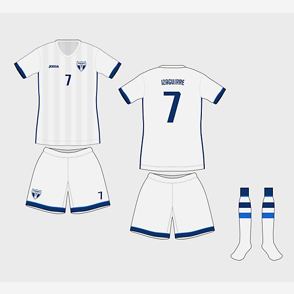 Honduras Home - Copa América Design Football