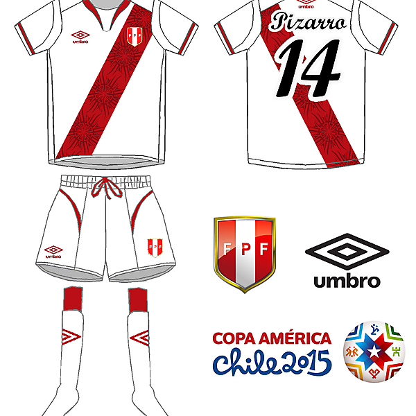 Peru - Umbro home kit