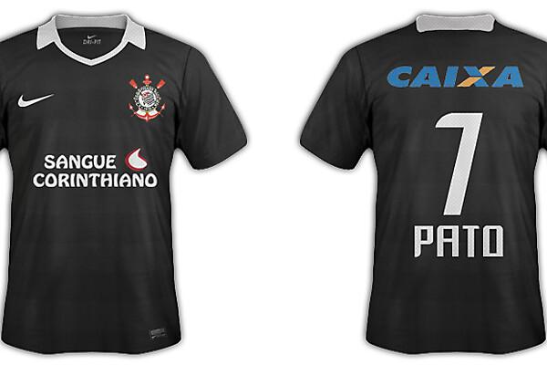 Corinthians away nike gonsuke ver