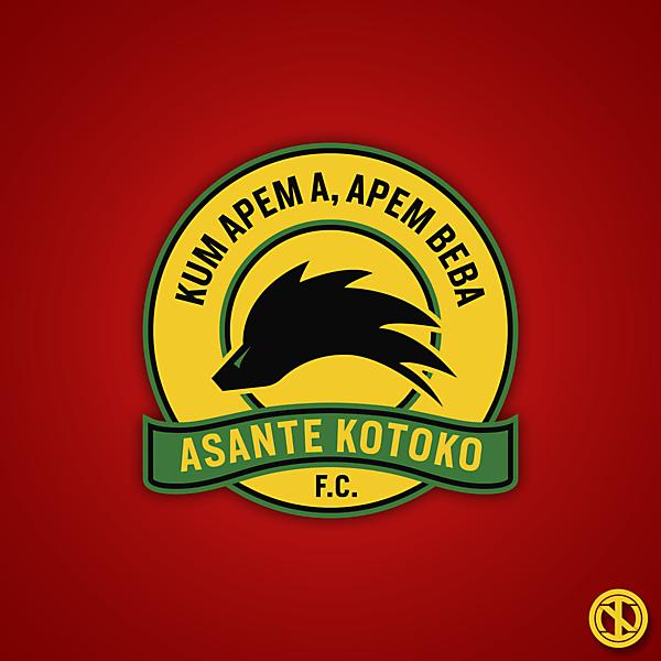 Asante Kotoko | Crest Redesign Concept