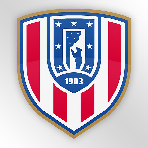 Atlético de Madrid | Crest Redesign