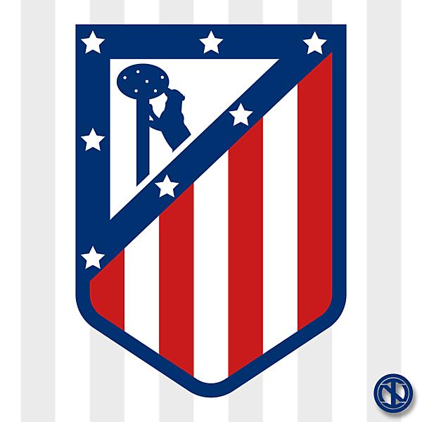 Atlético de Madrid | Crest Redesign Concept