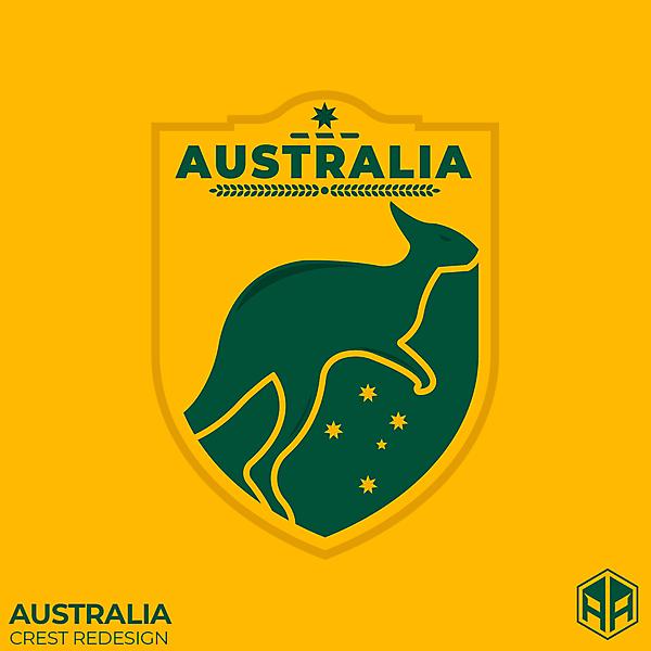 Australia crest redesign
