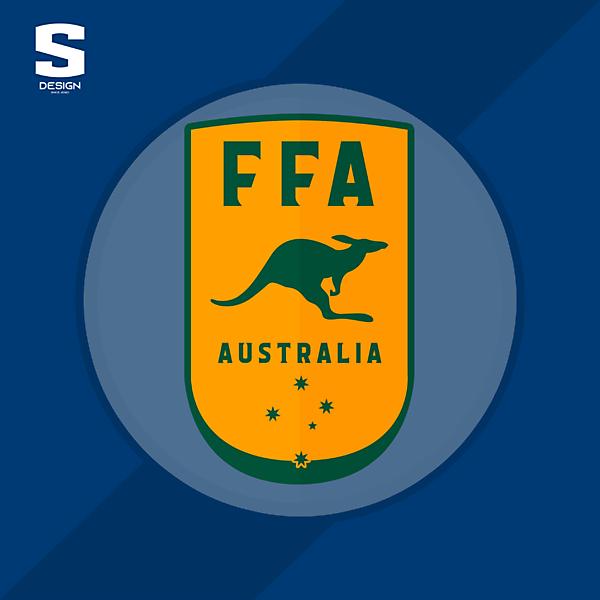 Australia National Football Team   Redesign