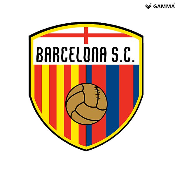 barcelona sc crest