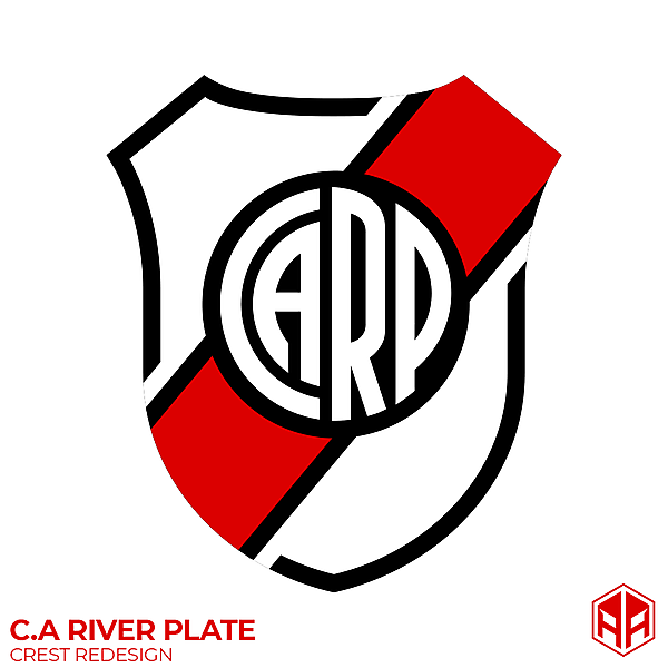 C.A River Plate crest redesign