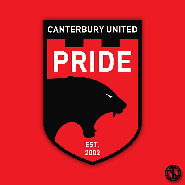 Canterbury United Pride   Crest Redesign Concept
