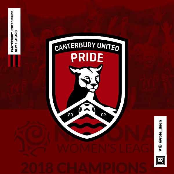 Canterbury United Pride By @rofe_dsgn