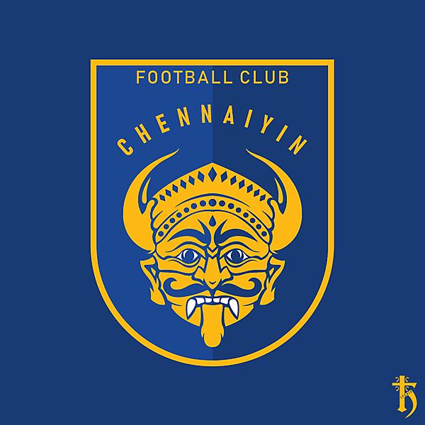 Chennaiyin FC - Redesign