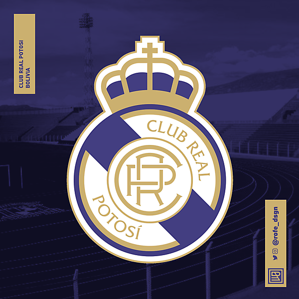 Club Real Potosí | Rebranding By @rofe_dsgn