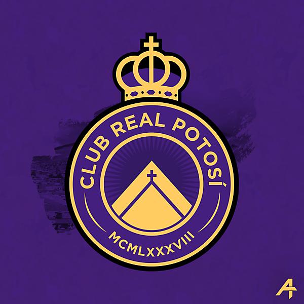 Club Real Potosí logo redesign