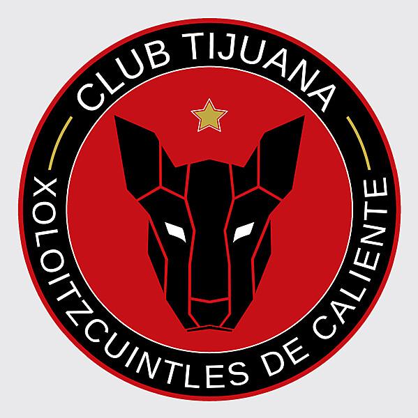 Club Tijuana Xolos Crest Redesign