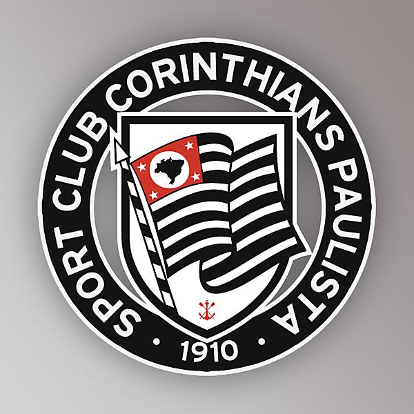 Corinthians crest redesign