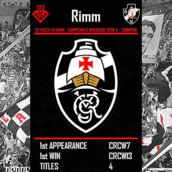 CRCW100 - Rimm