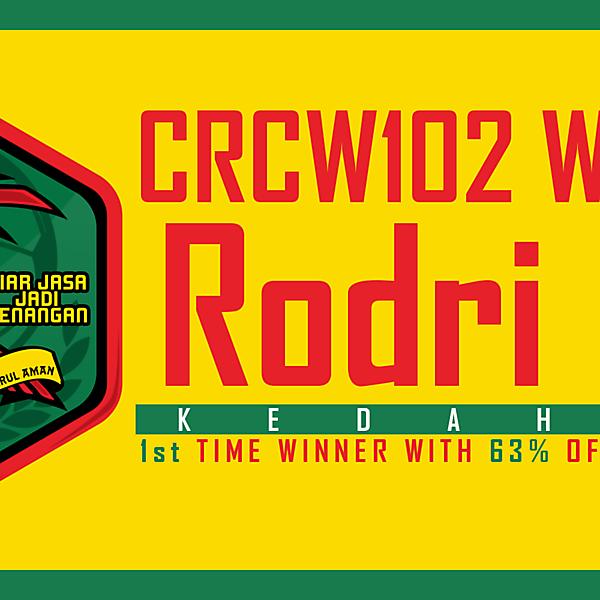 CRCW102 - WINNER