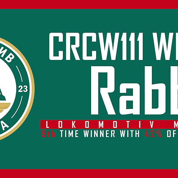 CRCW111 - WINNER