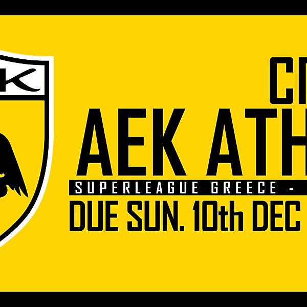 CRCW91 - AEK ATHENS
