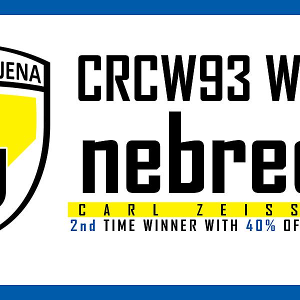 CRCW93 - WINNER