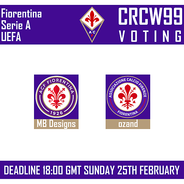 CRCW99 - VOTING