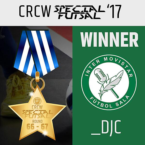 CRCW - Special Futsal WINNER