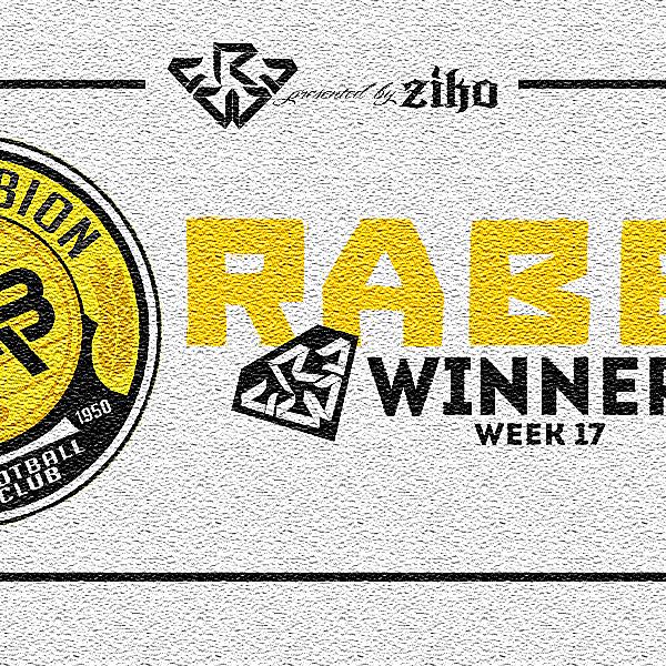 CRCW - WEEK 17 - WINNER