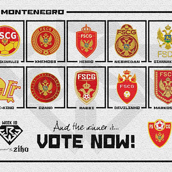 CRCW - WEEK 18 - VOTING