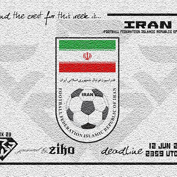 CRCW - WEEK 23: Iran (F.F.I.R.I.)
