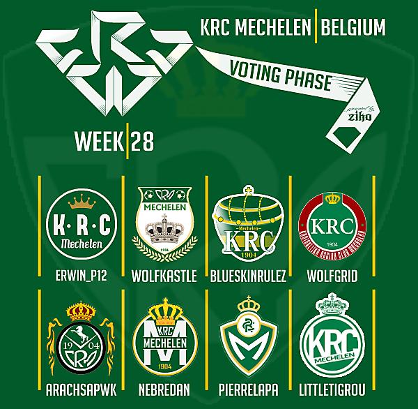 CRCW - WEEK 28 - VOTING