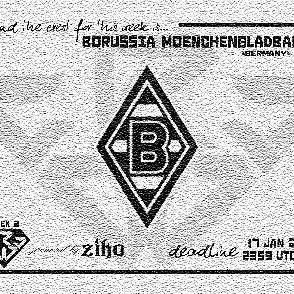 CRCW - WEEK 2: Borussia Moenchengladbach